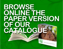 Browse online the paper version of our catalogue